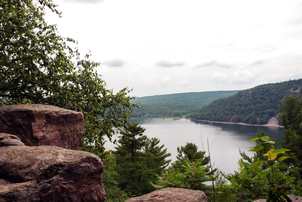 Visiting Devils' Lake State Park is a must-do for visitors to Baraboo, Wisconsin.