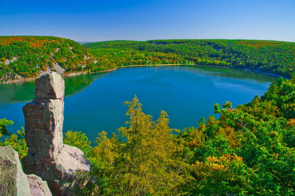 There's no shortage of fun things to see and do at Devil's Lake State Park near Baraboo, Wisconsin.