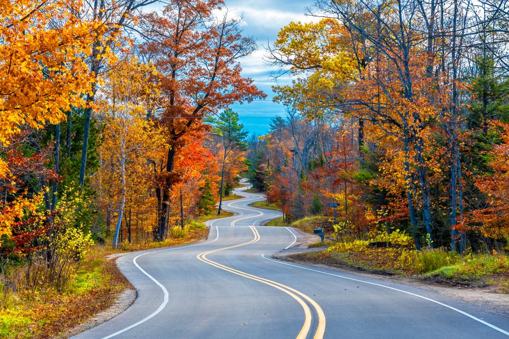 scenic drives near baraboo WI